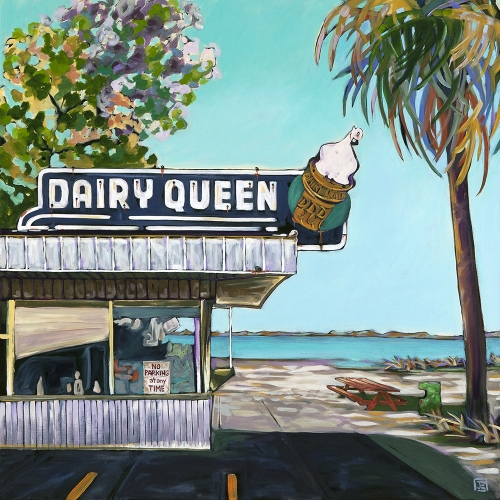 Dairy Queen on the Beach 2