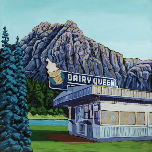 Dairy Queen in the Mountains