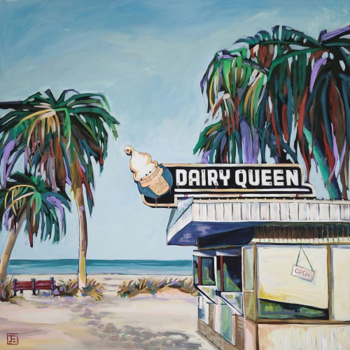 Dairy Queen on the Beach